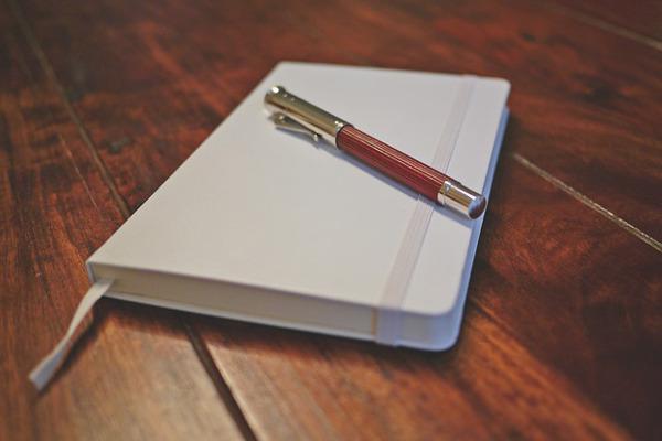 carnet pour écrire des souvenirs