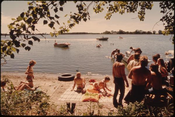 photo de vacances vintage