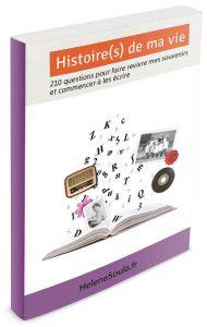aide livre écrire souvenirs histoire vie famille