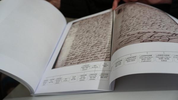 livre histoire famille généalogie mise enpage